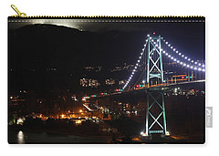 Lions Gate Bridge And Grouse Mountain Carry-all Pouch