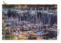 Lions Gate Bridge And Stanley Park Carry-all Pouch by Ross G Strachan