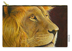 Lion's Gaze Carry-all Pouch