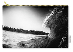 Carry-all Pouch featuring the photograph lip by Nik West
