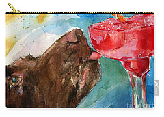 Lip Smack Daq Carry-all Pouch by Molly Poole