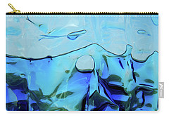 Carry-all Pouch featuring the photograph Liquid Abstract  #0059 by Barbara Tristan