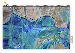 Liquid Abstract  #0060 Carry-all Pouch