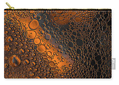 Liquid Copper Glass Carry-all Pouch