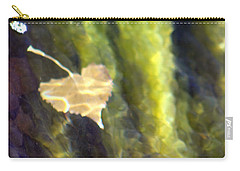 Liquid Leaves 1 Carry-all Pouch by Alycia Christine