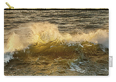 Carry-all Pouch featuring the photograph Liquid Sunbeam by Mary Jo Allen