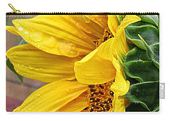 Liquid Sunshine Carry-all Pouch by Katie Wing Vigil
