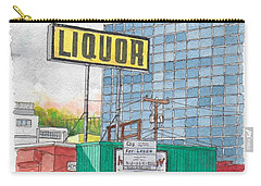 Liquor For Lease In Burbank, California Carry-all Pouch