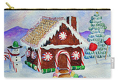 Lisa's Gingerbread House Carry-all Pouch