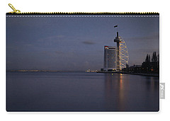 Lisbon Night Scene Carry-all Pouch