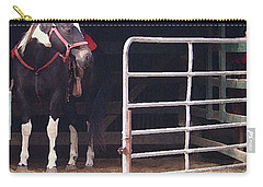 Listening For My Turn Carry-all Pouch by Kim Henderson