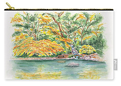 Lithia Park Reflections Carry-all Pouch