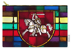 Lithuania Coat Of Arms Carry-all Pouch