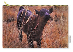Little Angus Bull Calf Carry-all Pouch