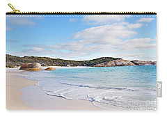Carry-all Pouch featuring the photograph Little Beach, Australia by Ivy Ho