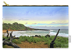 Carry-all Pouch featuring the photograph Little Beach by DJ Florek