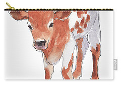 Little Beau April 2017 By Kathleen Mcelwaine Carry-all Pouch