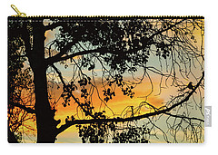 Carry-all Pouch featuring the photograph Little Birdie Told Me So by James BO Insogna