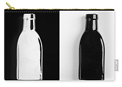 Carry-all Pouch featuring the photograph Little Black  Bottle by Andrey  Godyaykin