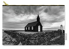 Little Black Church 2 Carry-all Pouch