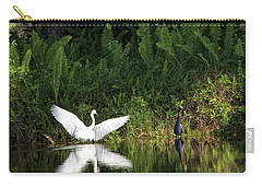 Little Blue Heron Non-impressed Carry-all Pouch