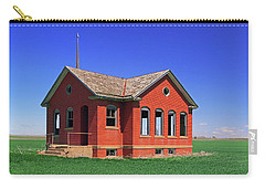 Little Brick School House Carry-all Pouch