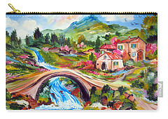 Little Bridge And Country Farm Carry-all Pouch