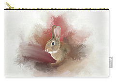Little Bunny Carry-all Pouch by Mary Timman