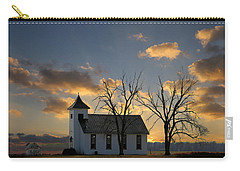 Little Church On The Prairie Carry-all Pouch