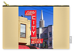 Little City Market North Beach San Francisco Carry-all Pouch