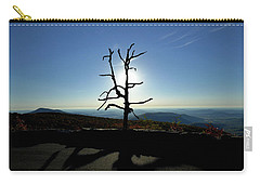 Carry-all Pouch featuring the photograph Little Devil Stairs Overlook by Robert Geary