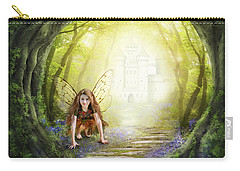 Little Fairy In The Woods Carry-all Pouch