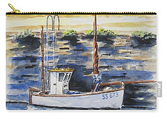 Little Fishing Boat Carry-all Pouch