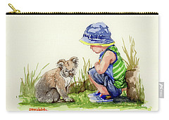 Little Friends Watercolor Carry-all Pouch