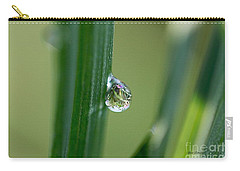 Little Garden In The Droplet Carry-all Pouch by Yumi Johnson