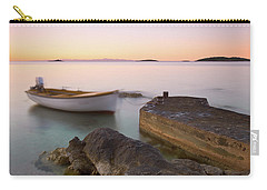 Carry-all Pouch featuring the photograph Little Haven by Davor Zerjav