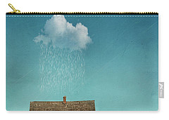 Carry-all Pouch featuring the photograph Little House Of Sorrow by Juli Scalzi