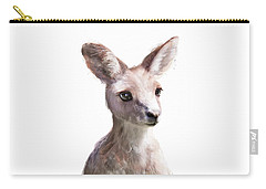 Little Kangaroo Carry-all Pouch by Amy Hamilton