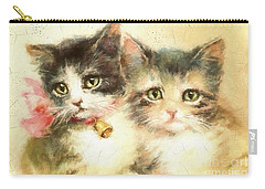 Little Kittens Carry-all Pouch
