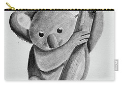 Little Koala On A Tree Carry-all Pouch