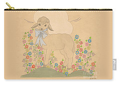 Little Lamb Carry-all Pouch