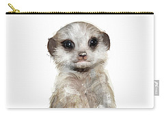 Little Meerkat Carry-all Pouch by Amy Hamilton