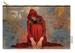 Little Mel Riding Hood Carry-all Pouch by Trish Tritz