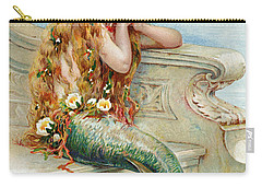 Little Mermaid Carry-all Pouch by E S Hardy