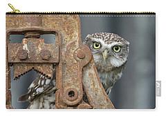 Little Owl Peeking Carry-all Pouch