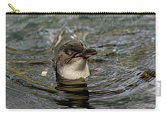 Little Penguin In The Water Carry-all Pouch