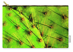 Carry-all Pouch featuring the photograph Prickly Pear by Paul Wear
