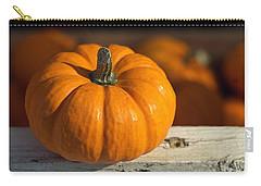 Little Pumpkin Carry-all Pouch by Joseph Skompski