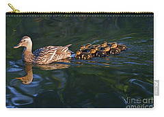 Little Quacker Formation Carry-all Pouch by Debby Pueschel