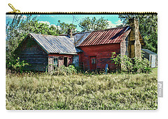 Little Red Farmhouse Carry-all Pouch by Paul Ward
